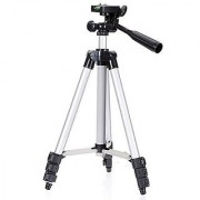 3110 Foldable Camera Tripod With Mobile Clip Holder Bracket By Ved Sales.