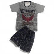 Kids Clothes Boys Rider Grey And Navy Blue