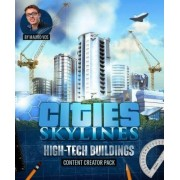 CITIES: SKYLINES - HIGH-TECH BUILDINGS (DLC) - STEAM - PC / MAC - WORLDWIDE