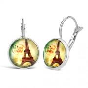 Silvego Náušnice VESPER Eiffelova věž - VSPE078