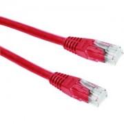 Kabel mrežni Roline Cat 6 UTP 5.0m crveni (24AWG)