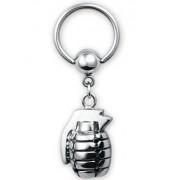 Steel Grenade BCR Piercing - Strl 1.6 x 10 mm