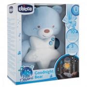 Jucarie Chicco pentru patut Ursuletul noapte buna blue 0 luni+