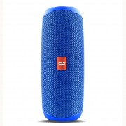 Filp 5 Waterproof Portable Outdoor Wireless Mini Stereo with TF Card Speaker - Blue