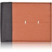 Bizarre Kraftz Men Casual Black, Brown Artificial Leather Wallet(12 Card Slots)