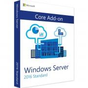 Microsoft Windows Server 2016 Standard AddOn de licença adicional Core AddOn 16 Cores