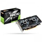 Видео карта Inno3D GeForce GTX 1660 Twin X2, 192 bit, HDMI 2.0b, 3 x DisplayPort 1.4, N16602-06D5-1521VA15