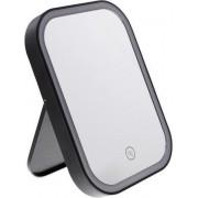 Make Up Spiegel Met Dimbare LED Verlichting - Opklapbaar - Inclusief Batterijen - Handspiegel - Scheerspiegel - Cosmeticaspiegel