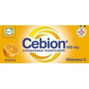 Dompe' Farmaceutici Spa Cebion 500 500 Mg Compresse Masticabili 20 Compresse Masticabili All'arancia