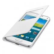 SAMSUNG Maska sa preklopom i prozorom, S5 mini bela EF-CG800-BWE