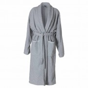 Sealskin Bathrobe Porto Women Size XL Grey 16361348011