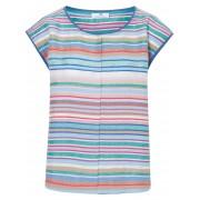 Peter Hahn Dames Shirt met aangeknipte mouwtjes en breedtestrepen Van Peter Hahn multicolour