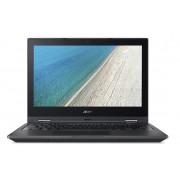 """Acer Travelmate Spin B1 TMB118-RN Mini Notebook Celeron Quad N4100 1.10Ghz 4GB 500GB 11.6"""" FULL HD UHD 600 BT Win 10 Pro"""