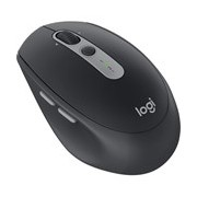 Logitech M590 Mouse - Bluetooth/Radio Frequency - USB - Optical - 7 Button(s) - Graphite Tonal