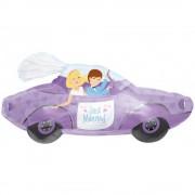 Balon folie figurina masina Just Married - 86x41cm, Amscan 11380