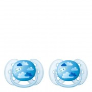 Philips Avent Ultra Soft Chupetas Decoradas 6-18M Menino 2unid.