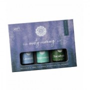 Woolzies Essential Oil Misty Morning Collection Set Of 3 Lavender Peppermint and Eucalyptus 10 ML each