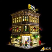 LIGHT MY BRICKS Kit for 10211 Grand Emporium