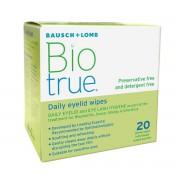Bausch & Lomb Biotrue Daily Eyelid Wipes (20 wipes)
