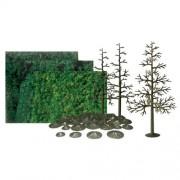 "JTT Scenery Products Super Scenic Series: Pine Tree Kit, 8"" Height"