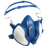 Respiratore a semimaschera 3M - 408778 Respiratore a semimaschera classe ffa 2p3 senza valvola in elastomero termoplastico di colore blu in confezione da 1 Pz.