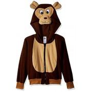 RG Costumes 'Funsies' Morgan The Monkey Hoodie, Child Large/Size 12-14