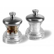 Комплект мелнички за сол и пипер COLE & MASON PO3 - 6.5 см