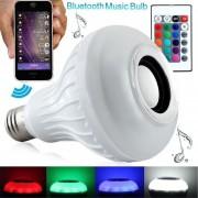 Música Audio Bluetooth 3.0 Altavoz Con 24 Teclas De Control Remoto