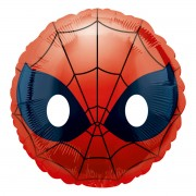 Balon folie masca Spiderman 43 cm