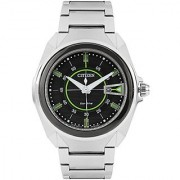 Citizen Eco-Drive Analog Black Dial Mens Watch - Aw1021-51E