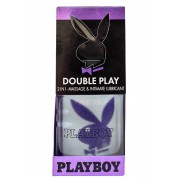 Gel Lubrifiant PlayBoy 2in1 Double Play masaj & intim