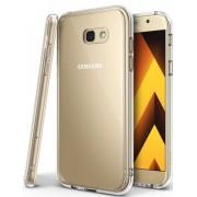 Protectie spate Ringke FUSION CLEAR pentru Samsung Galaxy A5 2017 + BONUS folie protectie display Ringke (Transparent)