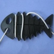 CableFish negru Organizator cabluri