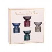 Oscar de la Renta La Collection Oscar confezione regalo eau de toilette Blue Orchid 7,5 ml + eau de toilette Esprit D´Oscar 7,5 ml + eau de toilette Jasmine 7,5 ml + eau de toilette Rose 7,5 ml donna