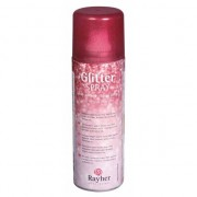 Rayher hobby materialen Fijne glitterspray rood