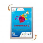 Edimeta Cadre Clic-Clac B2 50 x 70 cm angles 90°
