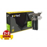 Grafička kartica GeForce GT710 Zotac 2GB ZONE Edition DDR3, HDMI/DVI-D/VGA/64bit/ZT-71302-20L