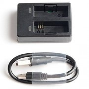 SJCAM Original Accessories Travel Charger Dual Slot Charger For SJ7 STAR