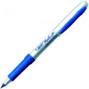 BIC 31932 MARK IT PERMANENT MARKER ULTRA FINE 0.7MM BLUE BOX 12