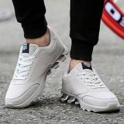 Rosegal Chaussures de Sport à Lacets en Daim à Motif de Lettre 44
