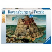 Puzzle Bruegel The Elder Turnul Babel 5000 de piese Ravensburger