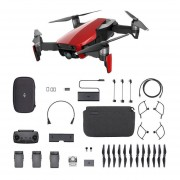 Drone DJI Mavic Air Fly More Combo - Rojo
