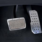 2 En 1 Acero Inoxidable Auto Automatico De Seguridad Del Gas Pedales De Freno De Almohadillas Para Honda
