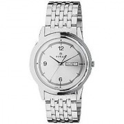 Titan Quartz Silver Dial Mens Watch-1638SM01
