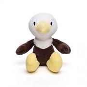 "Bears for Humanity Organic Bald Eagle Animal Pals Plush Toy, 12"""