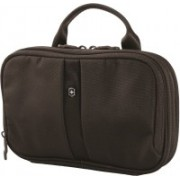 Victorinox Lifestyle Accessories 4.0 Slimline Bi-Fold Essentials Travel Toiletry Kit(Black)