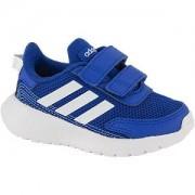 Adidas Blauwe Tensaur Run velcro