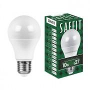Лампа светодиодная Saffit SBA6010 A60 10W E27 2700K 55004