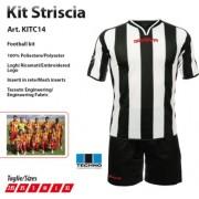 Givova - Completo Kit Calcio STRISCIA