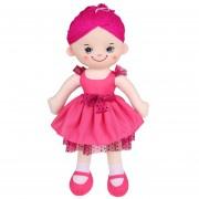 Muchachas Suavemente Juguetes De Peluche - Rosa Roja